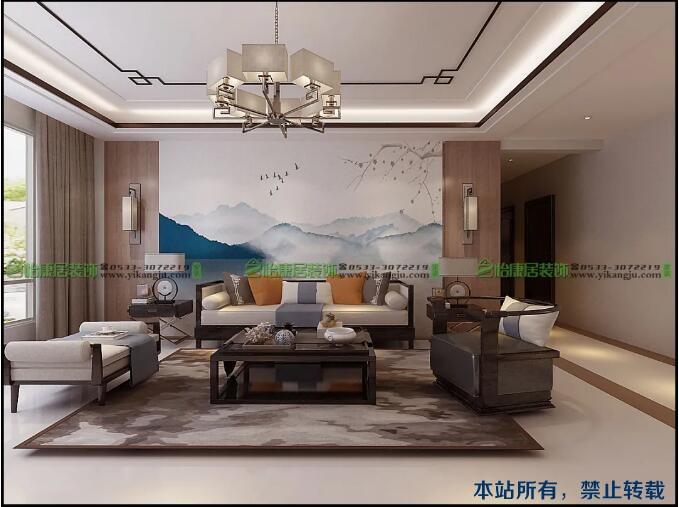 【大牌设计展】新中式风格——觅一份超脱都市的性情