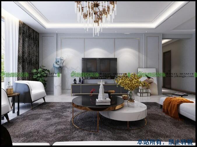【大牌设计展】轻奢风——温馨奢雅的艺术新邸